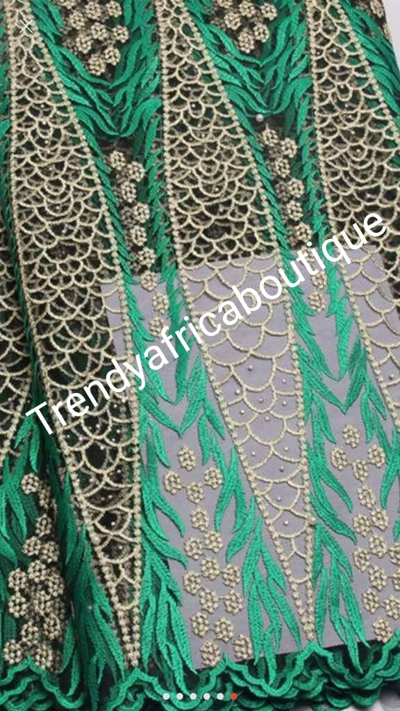 Special Offer African Tulle French lace fabric for African dresses. Quality fabric.