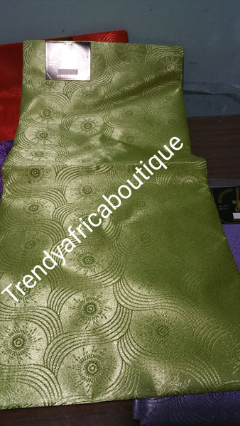 Nigerian/African Gele head wrap fabric. Assorted colors. Regular lenght. Sold per pack. Price is for one pack
