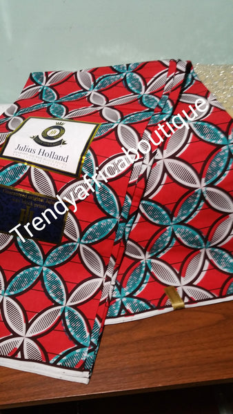 Top quality Holland wax print fabric. 100% cotton, soft texture. Great price. Sold per 6yds length. Excellent quality and great price