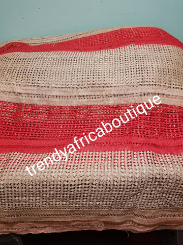 BEAUTIFUL Cord-lace fabric. Swiss lace for making African/Nigerian Dress. Sold per 5yds. Price is for 5yds