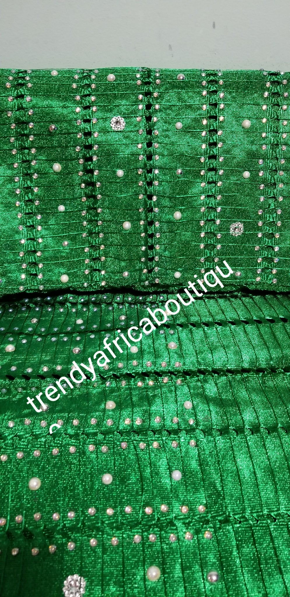 New arrival Original Aso-oke Gele, head wrap. Quality woven, hand beaded and stones border, Traditional Nigerian gele from Nigeria