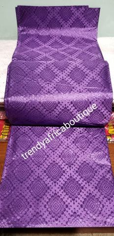 "Grand Hayes Swiss Gele/Headtie fabric for making Nigerian style Head wrap. One piece in a pace. Regular-headtie lenght 72"" long"