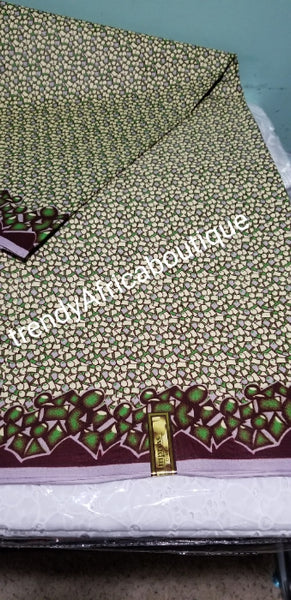 New arrival quality Java Hollandaise Africa wax print fabric. Sold per 6yds. Price is for 6yds. Superior quality/design