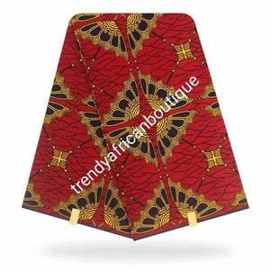f New arrival Guarantee African Veritable cotton wax print. Hollandaise Soft texture with quality design. Ankara was print in soft texture, Sold as 6yards. Luxuriouse quality ankara