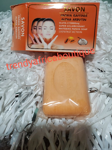 Gluta C 150000mg  night face cream with papaya extracts.skin Gold VIP advanced lighting Night face cream 50g. + whitening Gluta-C 100% fast action papaya soap
