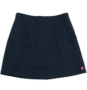 JCSR Girls Chino Skort with Waistband, Navy