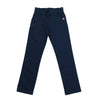 JCSR Girls Straight Leg Trouser with Waistband, Navy
