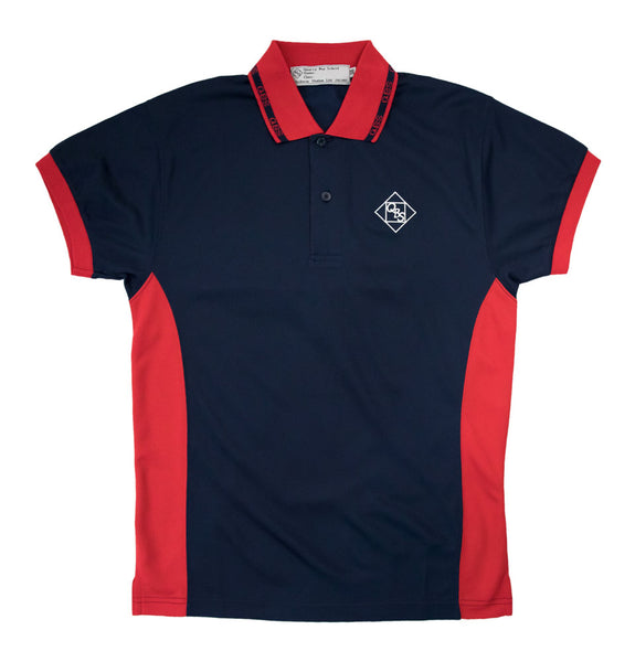 Quarry Bay Unisex Polo Shirt, Red