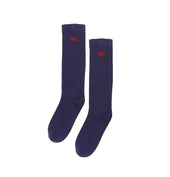 BHS Knee High, Long Socks, Purple - 1 pr