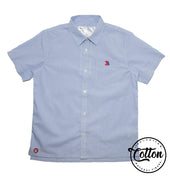 Boys Short-Sleeve Shirt (100% Cotton)