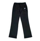 DC Secondary Girls Trousers - Black w. fixed waistband