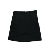 DC Secondary Girls Skort - Black w. fixed waistband
