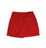 DC Primary Girls Skort - Red w. elastic waist