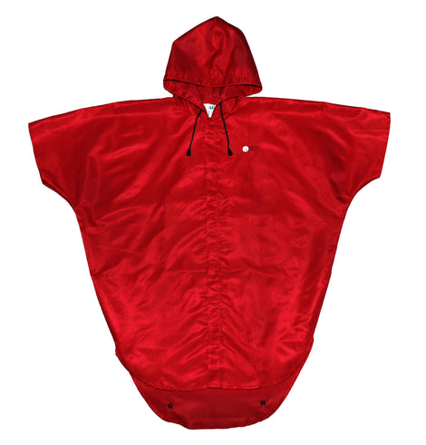 Discovery College Unisex Rain Jacket, Red