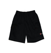 DC Primary Shorts  - Black w. elastic waist