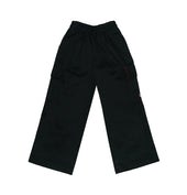 DC Primary Trousers - Black w. elastic waistband