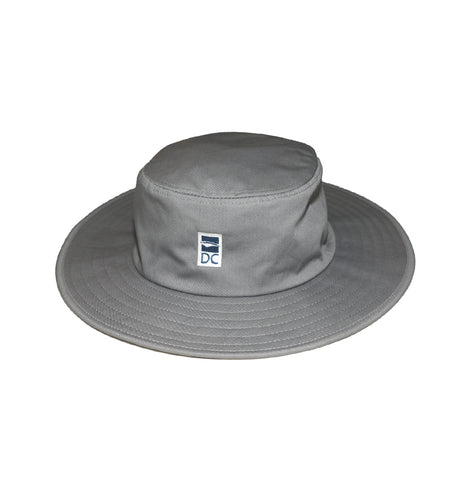 Discovery College Unisex Wide-brimmed Hat, Grey - Primary