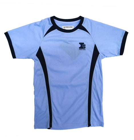 Island School Blue PE Top Drifit