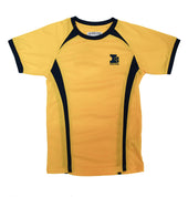 Island School Yellow PE Top Drifit
