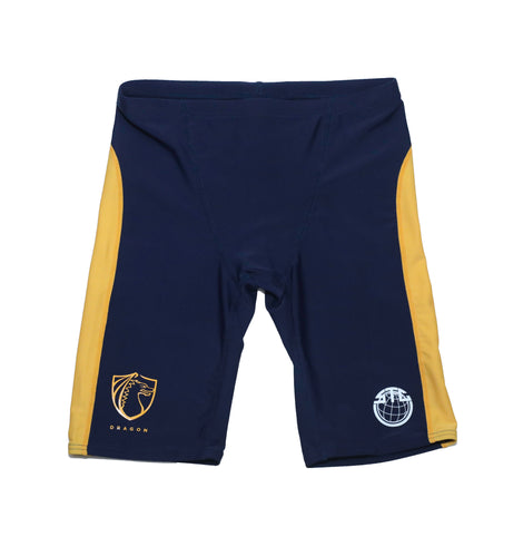 Sha Tin College KCK Boys Jammer Swimsuits, Yellow - Dragon