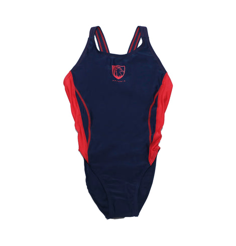 Sha Tin College KCK Girls Swimming Suits, Red - Pheonix