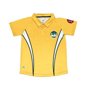PS Unisex PE Polo Shirt, Yellow - Cameron