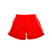 SJS Boys PE Shorts, Red