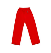 SJS Boys PE Track Pants, Red