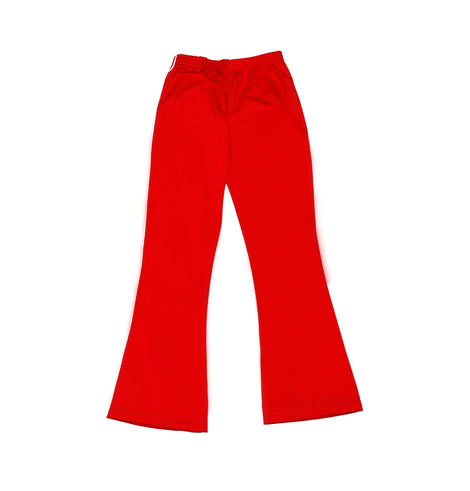 SJS Girls PE Track Pants, Red