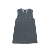 SJS Girls Winter Pinafore, Grey