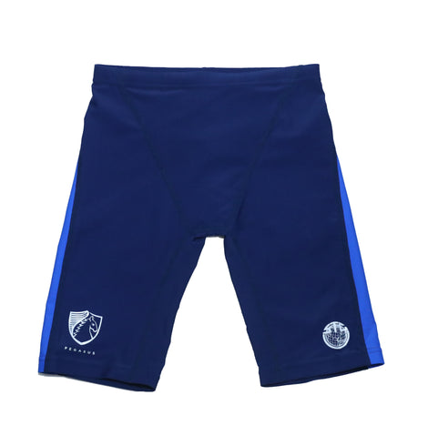 Sha Tin College TYR Boys Jammer Swimsuits, Blue - Pegasus