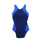 Sha Tin College TYR Girls Swimming Suits, Blue - Pegasus (includes bra cups / breast pads)