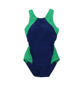 Sha Tin College TYR Girls Swimming Suits, Green - Griffin (includes bra cups / breast pads)