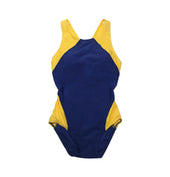 Sha Tin College TYR Girls Swimming Suits, Yellow - Dragon