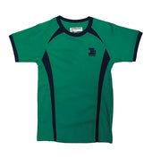 Island School Green PE Top Drifit