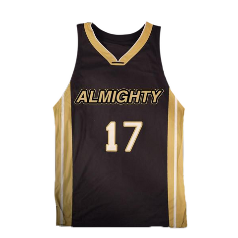 ALMIGHTY Customize Your Org Saints Basketball Jersey - Almighty Jerseys Jersey Customs Greek Life