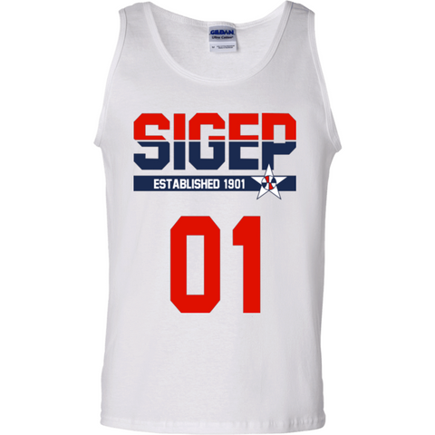 Sigma Phi Epsilon Officially Licensed (Assorted Colors) Tank Top - Almighty Jerseys Jersey Customs Greek Life