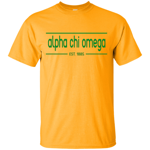 Alpha Chi Omega Officially Licensed T-Shirt - Almighty Jerseys Jersey Customs Greek Life