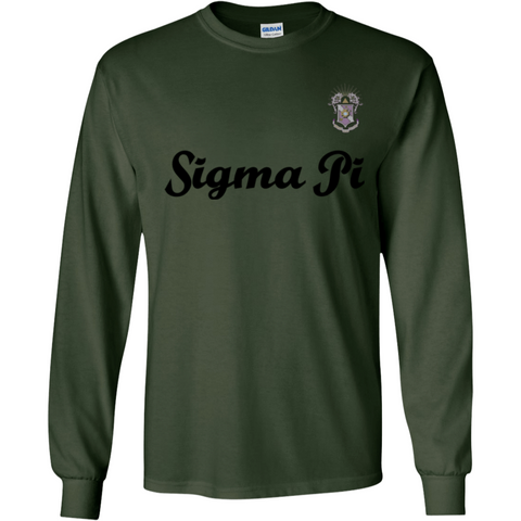 Sigma Pi Officially Licensed (Assorted Colors) Long Sleeve Shirt - Almighty Jerseys Jersey Customs Greek Life
