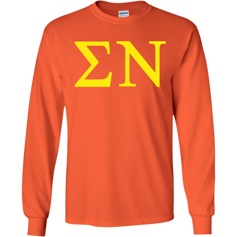 Sigma Nu Officially Licensed (Assorted Colors) Long Sleeve T-Shirt - Almighty Jerseys Jersey Customs Greek Life