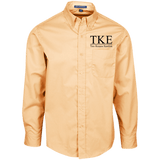 Tau Kappa Epsilon Officially Licensed (Assorted Colors) LS Dress Shirt - Almighty Jerseys Jersey Customs Greek Life