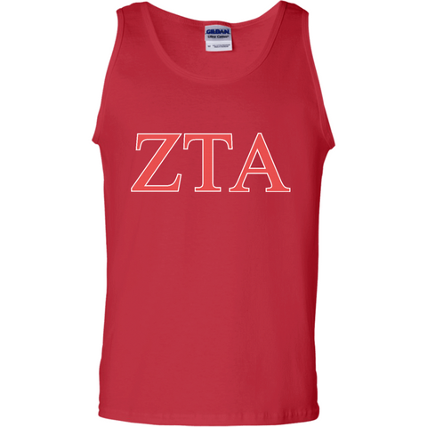 Zeta Tau Alpha Officially Licensed (Assorted Colors) Tank Top - Almighty Jerseys Jersey Customs Greek Life