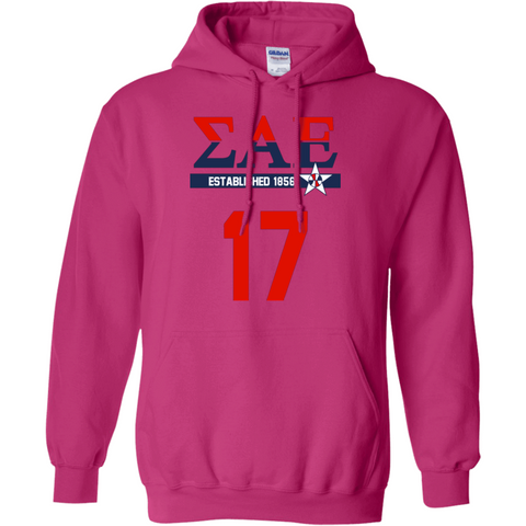 Sigma Alpha Epsilon Officially Licensed (Assorted Colors) Hoodie - Almighty Jerseys Jersey Customs Greek Life