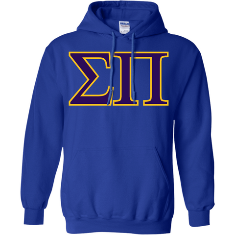 Sigma Pi Officially Licensed (Assorted Colors) Pullover Hoodie - Almighty Jerseys Jersey Customs Greek Life