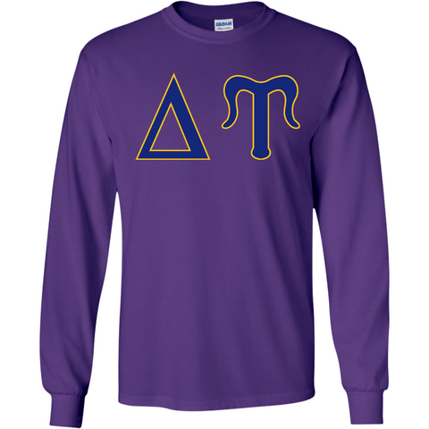 Delta Upsilon Officially Licensed (Assorted Colors) Long Sleeve T-Shirt - Almighty Jerseys Jersey Customs Greek Life