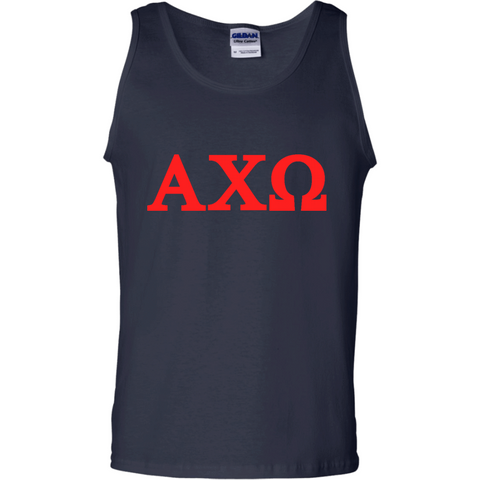 Alpha Chi Omega Officially Licensed (Assorted Colors) Tank Top - Almighty Jerseys Jersey Customs Greek Life