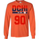 Delta Chi Officially Licensed Long Sleeve Shirt (Assorted Colors) - Almighty Jerseys Jersey Customs Greek Life