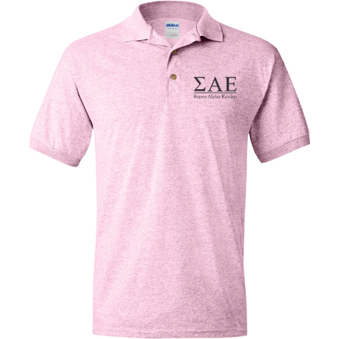 Sigma Alpha Epsilon Officially Licensed (Assorted Colors) Polo Shirt - Almighty Jerseys Jersey Customs Greek Life