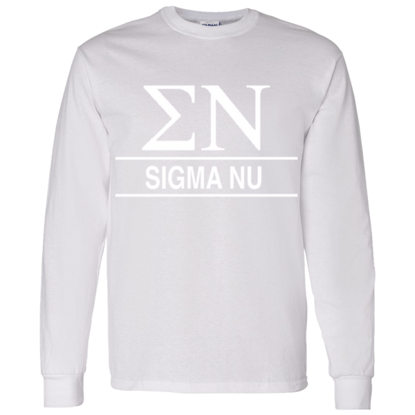 Sigma Nu Officially Licensed Long Sleeve - Almighty Jerseys Jersey Customs Greek Life