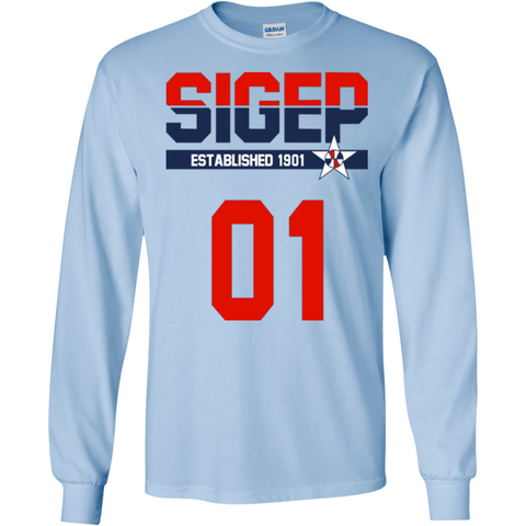 Sigma Phi Epsilon Officially Licensed (Assorted Colors) Long Sleeve Shirt - Almighty Jerseys Jersey Customs Greek Life